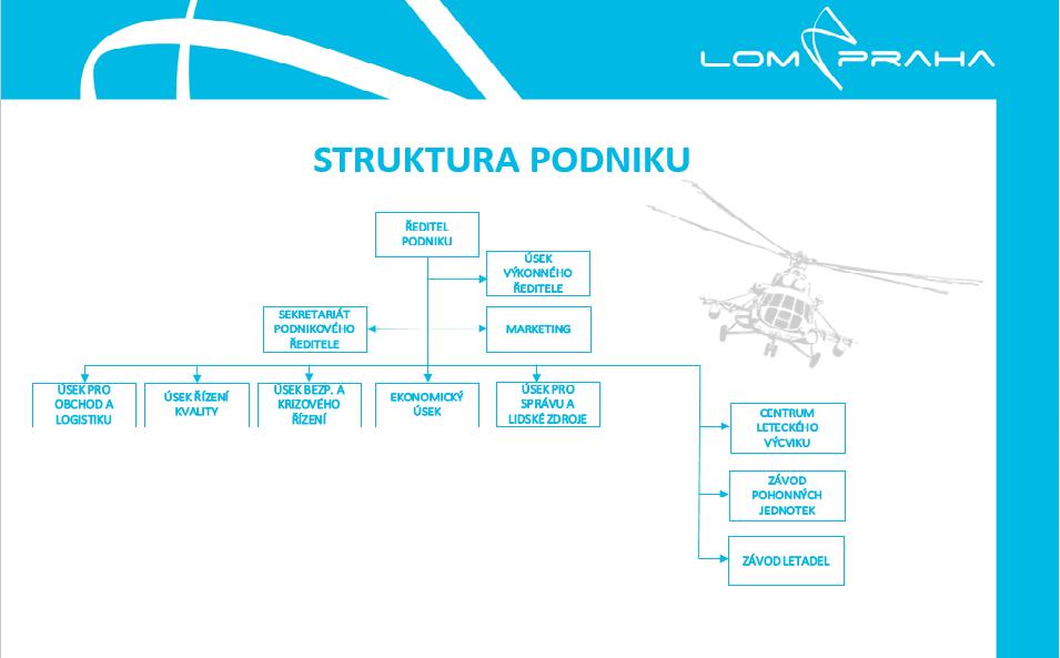Struktura podniku
