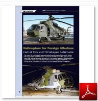 Czech Air Force Mi 171 sh helicopter modernisation (L+K)