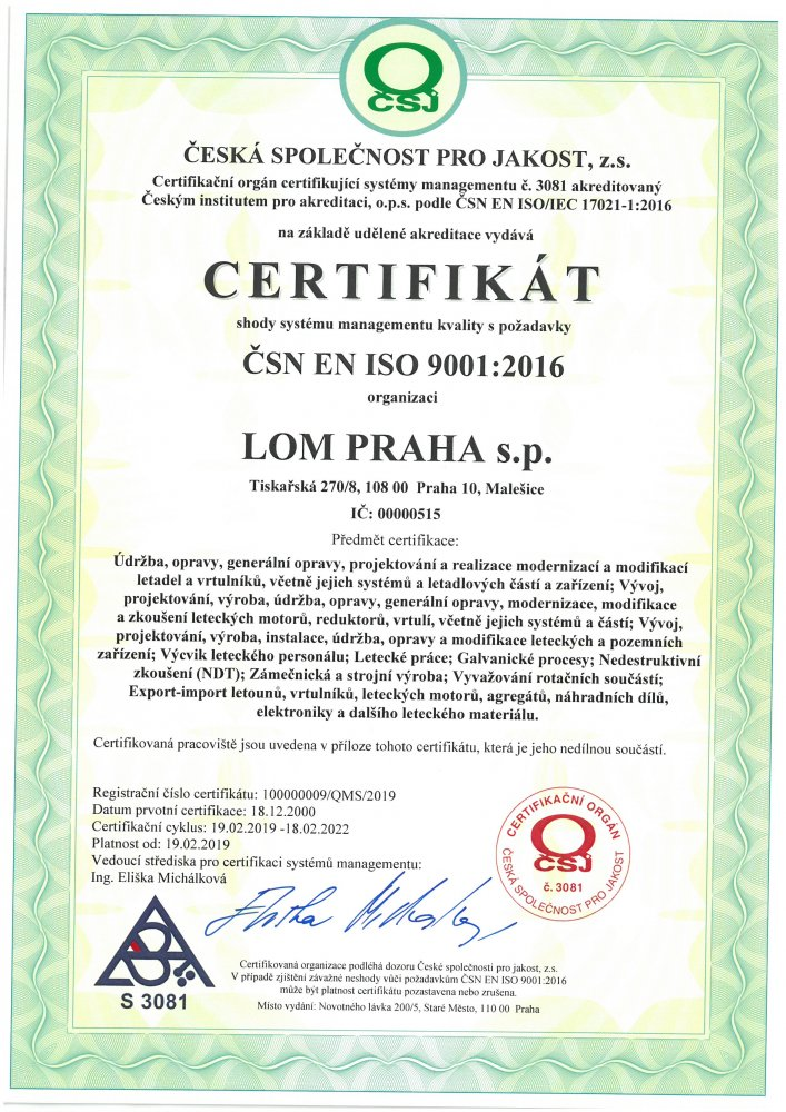 ISO 9001:2016