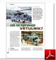 Jak se opravuje vrtulník (Areport)